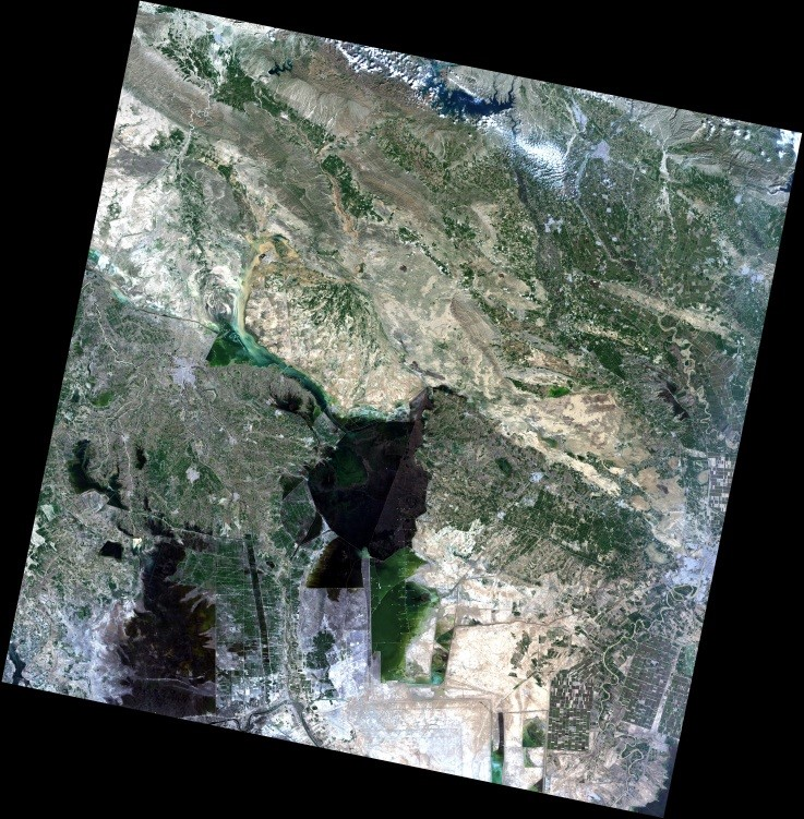 پايش مناطق سیل زده استان خوزستان در فرودین ماه 1398 توسط ماهواره های سنجش از دور